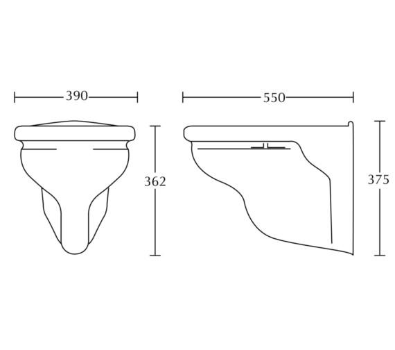 Technical drawing QS-V40545 / FI1WH01030