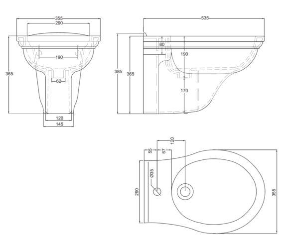Technical drawing QS-V17696 / RD1BH11030