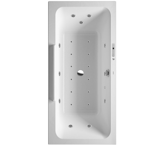 Duravit DuraStyle 1900 x 900mm Bath With Combi-System L