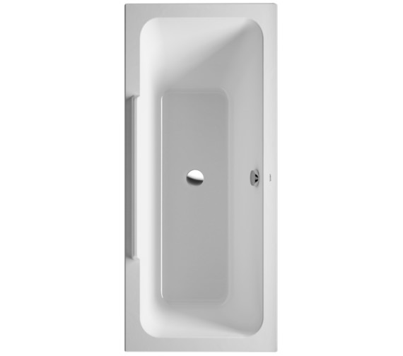 Duravit DuraStyle 1700 x 700mm Bath With Right Slope And Support Frame