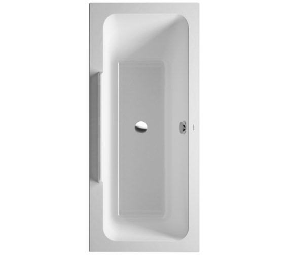 Duravit DuraStyle 1700 x 750mm Bath With Right Slope And Support Frame