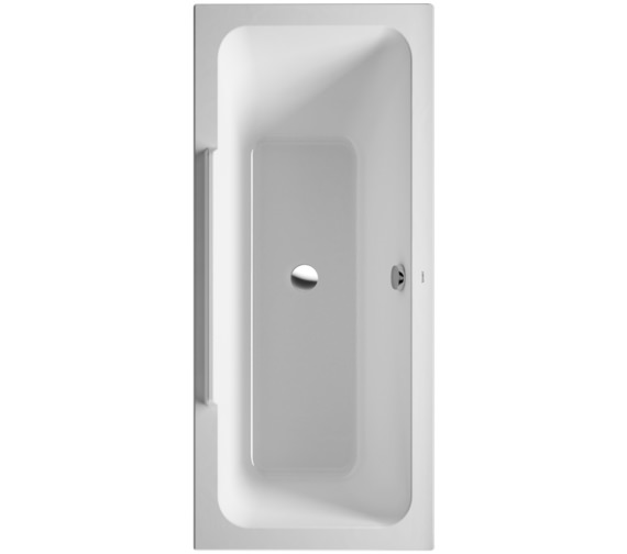 Duravit DuraStyle 1600 x 700mm Bath With Right Slope And Support Frame