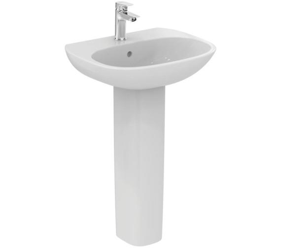 Additional image of Ideal Standard Tesi 1 Tap Hole Washbasin