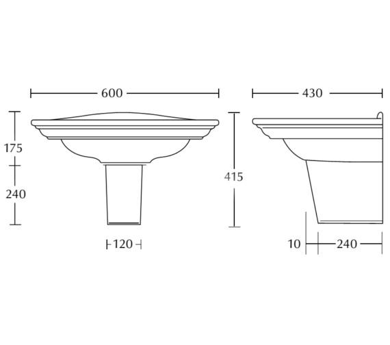 Technical drawing QS-V10829 / WM1MB11030