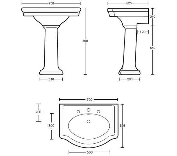 Technical drawing QS-V40538 / FI1LB11030
