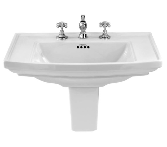 Imperial Radcliffe 600mm Medium Basin With 1 Tap Hole