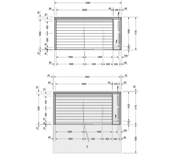 Technical drawing QS-V61901 / 751122001011000