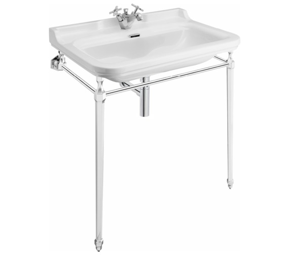 Bauhaus Waldorf 800mm 1 Tap Hole Basin And Console