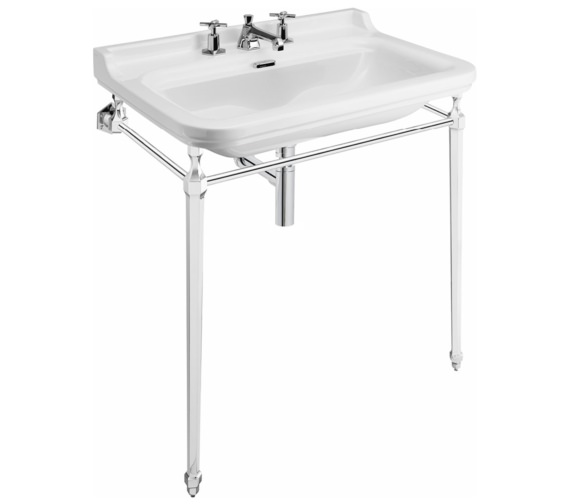 Bauhaus Waldorf 800mm 3 Tap Hole Basin And Console
