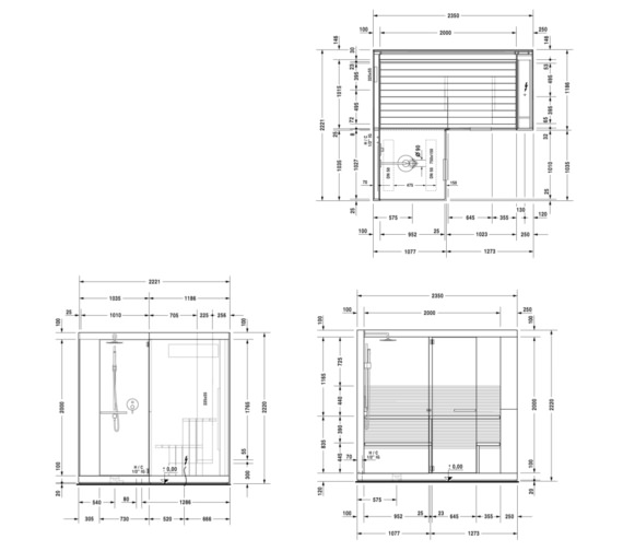 Technical drawing QS-V84030 / 750422002011000