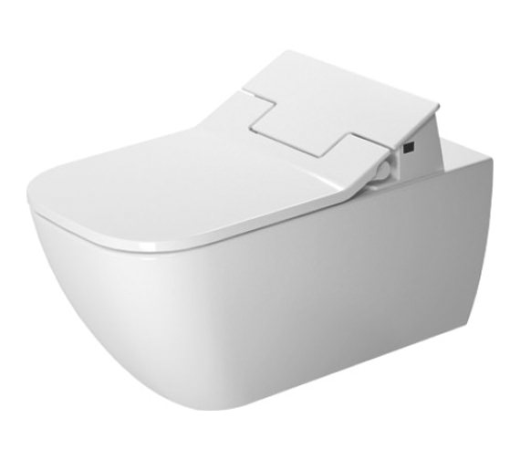 Duravit SensoWash Slim Seat With Happy D2 Rimless Wall Mounted Toilet