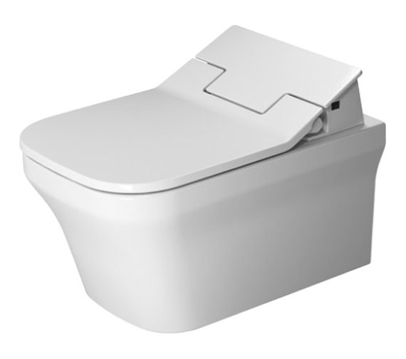 Duravit SensoWash Slim Seat With P3 Comforts Rimless Wall Mounted Toilet