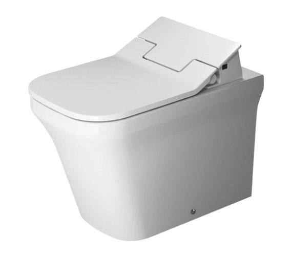 Duravit SensoWash Slim Seat With P3 Comforts Rimless Floor Standing Toilet