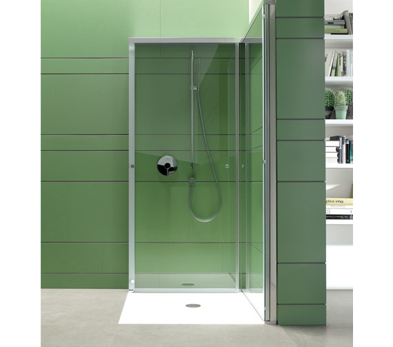 Duravit OpenSpace 985 x 985mm Square Shower Screen - 770003