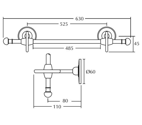 Technical drawing QS-V10830 / XD22110100