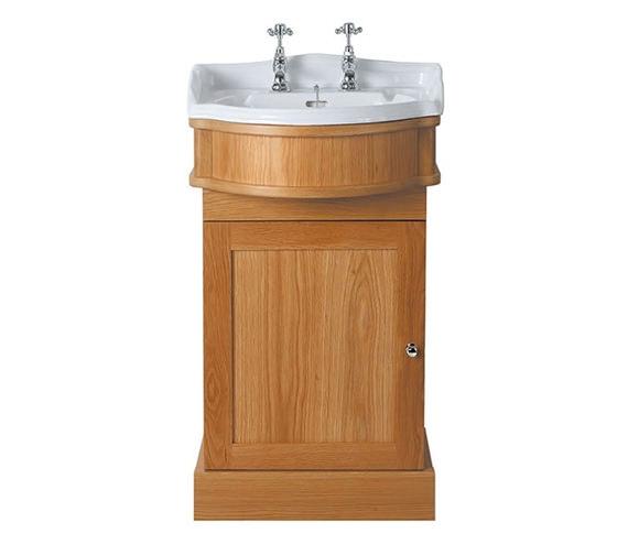 Imperial Oxford 1 Door Cloak Vanity Unit And Basin