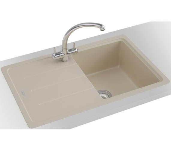 Additional image of Franke Basis BFG 611-780 Fragranite Coffee 1.0 Bowl Kitchen Inset Sink