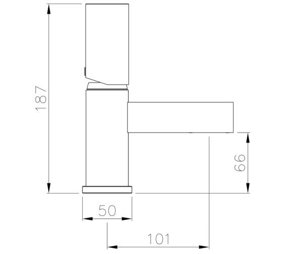 Technical drawing QS-V8580 / AB4171