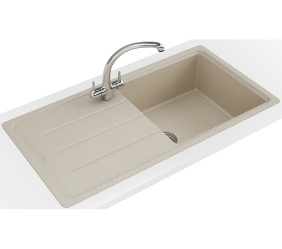 Franke Basis Propack BFG 611-970 Fragranite Coffee Kitchen Sink And Tap