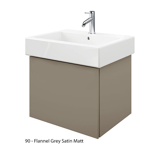 Alternate image of Duravit Delos 1 Compartment Jade High Gloss Unit With Vero 700mm Basin