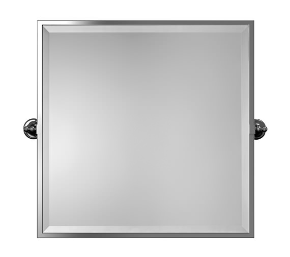 Imperial Isaac 592 x 470mm Square Framed Mirror