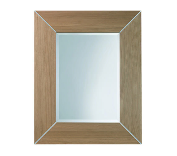 Imperial Rebecca 685 x 850mm Luxury Mirror With Metal Strips