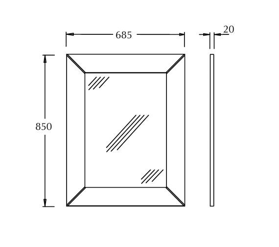 Technical drawing QS-V16477 / XLU0048020