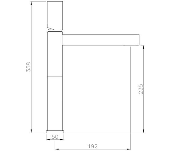 Technical drawing QS-V8591 / AB4195