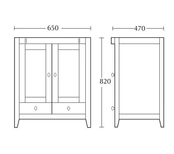 Technical drawing QS-V16486 / XW31000020