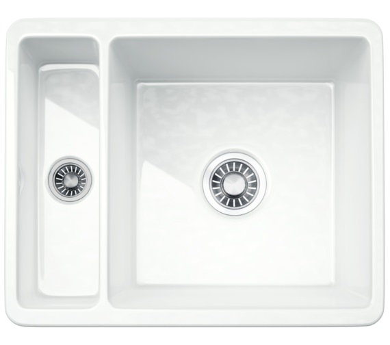 Franke Kubus KBK 160 Ceramic 1.5 Bowl Undermount Kitchen Sink