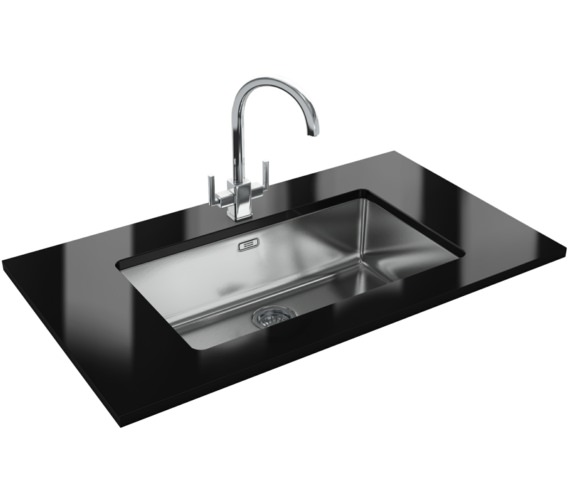 Franke Kubus Designer Pack KBX 110 70 Stainless Steel Kitchen Sink And Tap