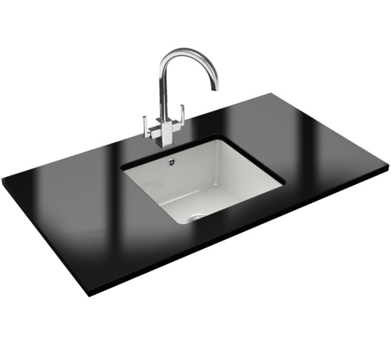 Franke Kubus Designer Pack KBK 110 40 Ceramic Kitchen Sink And Tap