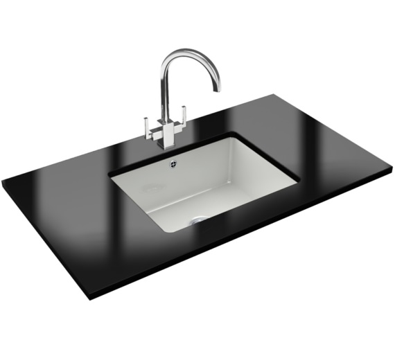 Franke Kubus Designer Pack KBK 110 50 Ceramic Kitchen Sink And Tap