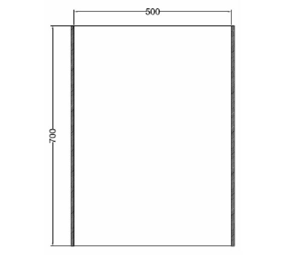 Technical drawing QS-V81425 / MI035