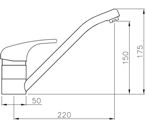 Technical drawing QS-V8598 / AT1086