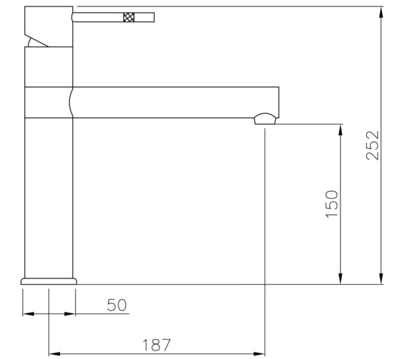 Technical drawing QS-V8599 / AT1089