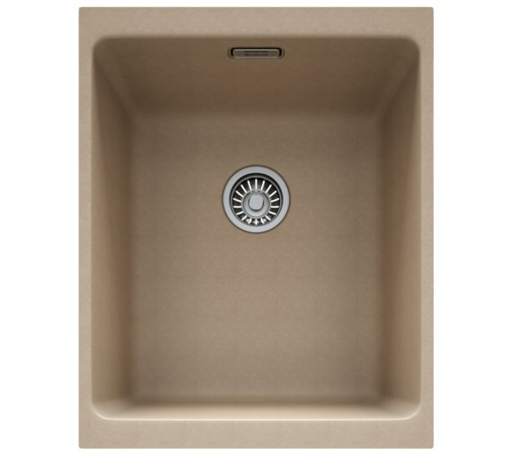 Franke Kubus KBG 110 34 Fragranite Oyster 1.0 Bowl Kitchen Undermount Sink