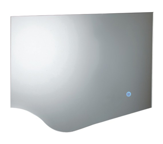 Phoenix Wave 800mm LED Mirror With Heated Demister Pad
