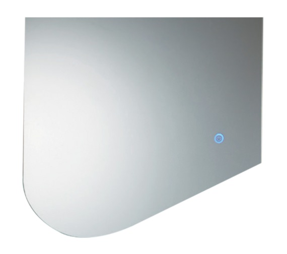 Phoenix Flow 600mm LED Mirror With Heated Demister Pad