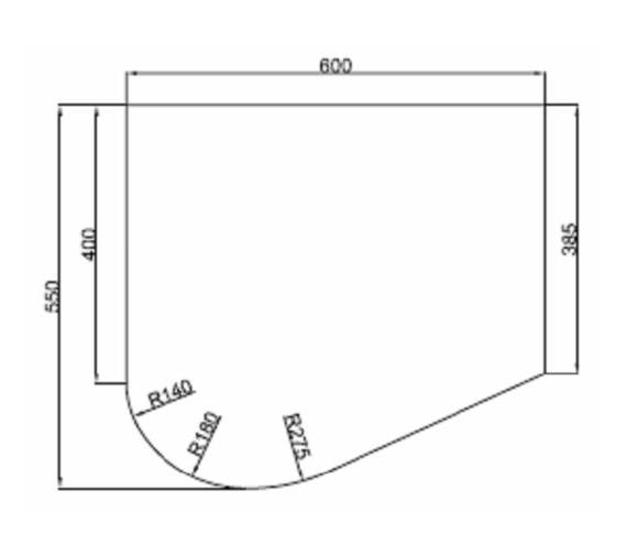 Technical drawing QS-V81431 / MI041