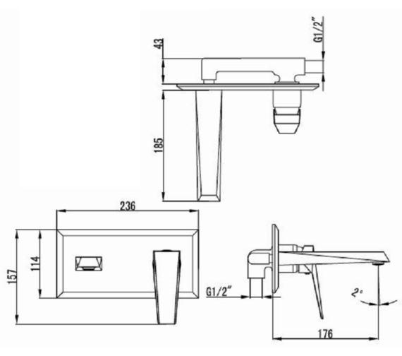 Technical drawing QS-V6534 / ID006