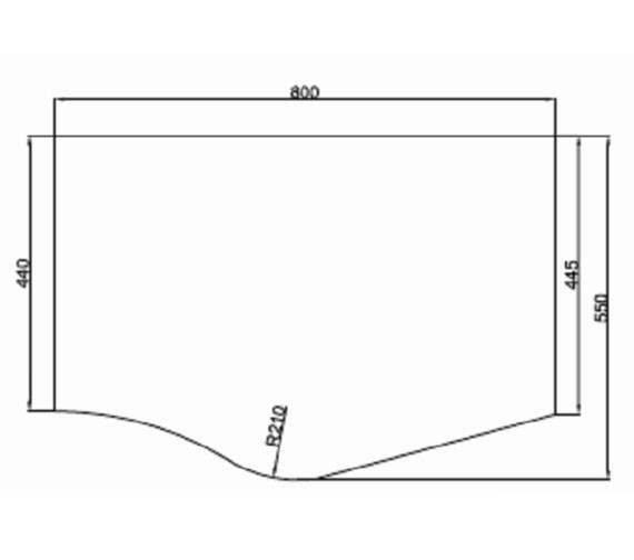 Technical drawing QS-V81430 / MI040