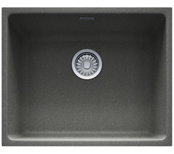 Franke Fragranite Undermount Sink : Franke Kubus KBG 110 50 Fragranite Stone Grey 1.0 Bowl Undermount Sink ...
