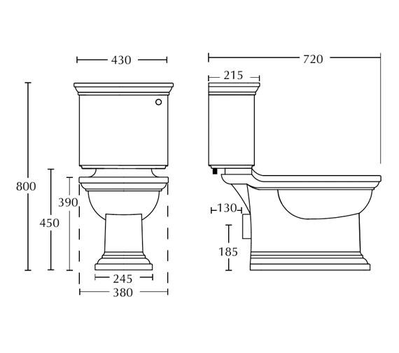 Technical drawing QS-V16490 / RD1WC01030