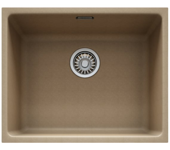 Franke Kubus KBG 110 50 Fragranite Oyster 1.0 Bowl Kitchen Undermount Sink