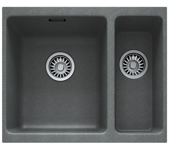 Franke Kubus KBG 160 Fragranite Stone Grey 1.5 Bowl Undermount Sink
