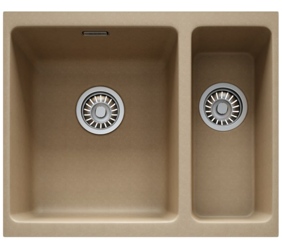 Franke Kubus KBG 160 Fragranite Oyster 1.5 Bowl Undermount Sink