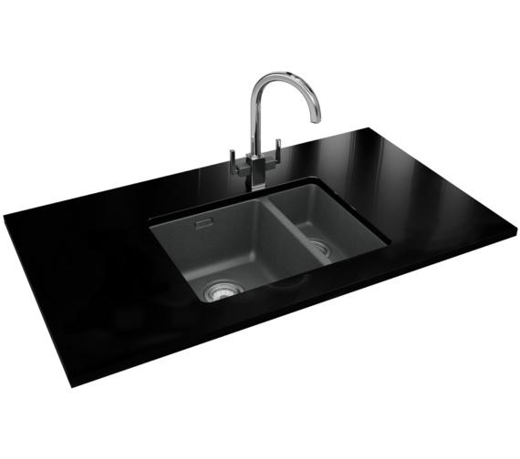 Franke Kubus Designer Pack KBG 160 Fragranite Stone Grey Sink And Tap