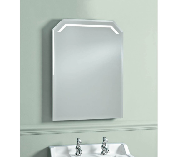 phoenix victoriana 550mm led backlit mirror with heated