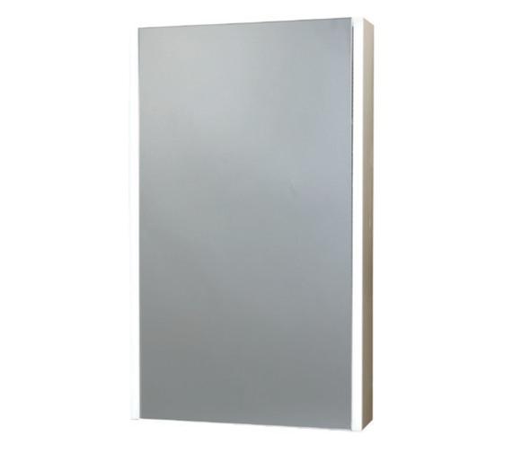 Phoenix Saturn Single Door Aluminium Mirror Cabinet